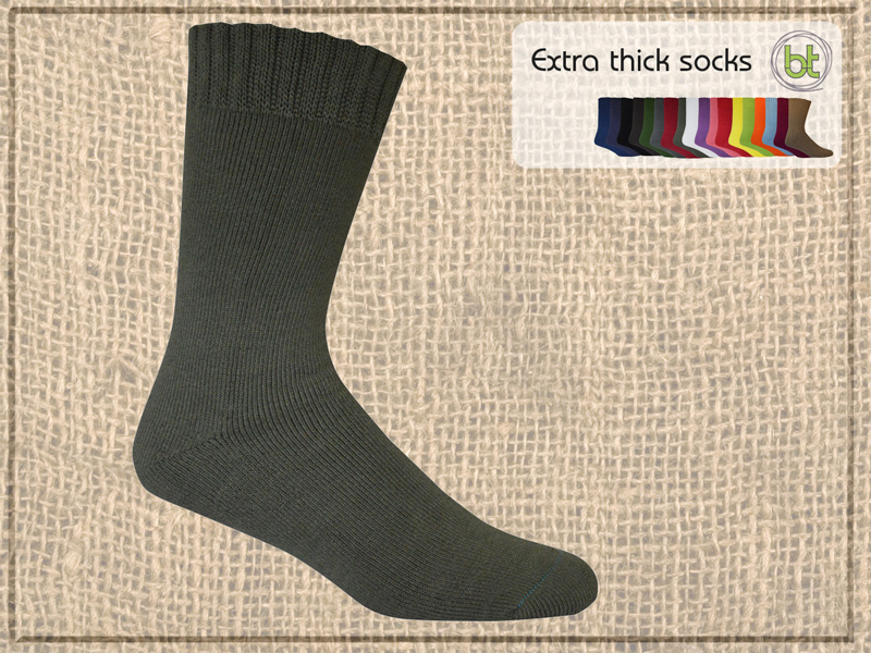 BT Extra Thick Socks